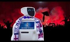 ВИДЕО: На защиту британских фанов на ЧМ-2018 в России готов встать робот