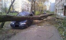 Pēcpusdienā Latvijā plosīsies vētra