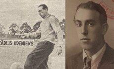 Latvijas sporta vēsture: 25 gadu vecumā Latvijas futbola izlases treneris un autoritāte