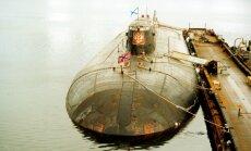 Aprit 15 gadi kopš Barenca jūrā traģiski nogrima 'Kursk'