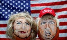 Хиллари Клинтон нравится латвийцам больше, чем Трамп