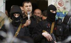 Atentātā ievainots pašpasludinātās 'Luhanskas tautas republikas' līderis