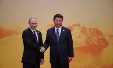Ķīna Krievijas ātrgaitas vilciena trases būvei grasās piešķirt 5,2 miljardu ASV dolāru aizdevumu