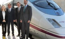 Savienos Spānijas un Francijas ātrvilcienu sistēmas