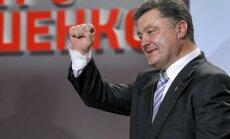 Ukrainas CVK: Otrā vēlēšanu kārta nav vajadzīga, jo prezidents ir ievēlēts