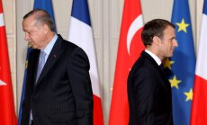 Makrons neizprot Turciju, uzskata Ankara