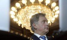 Somijas prezidenta vēlēšanās uzvarējis līdzšinējais valsts galva