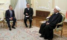 Šoigu ieradies vizītē Irānā