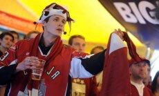 Hokeja līdzjutējus Baltkrievijā aicina atcerēties par standarta pieklājības normām