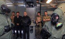 Aizkavētā Sīrijas ķīmisko ieroču izvešana tiks pabeigta līdz martam, sola Krievija