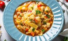 Minestrone – dārzeņu sezonas hits: kā pareizi vārīt itāliešu iecienītāko zupu