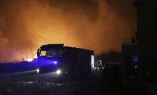 Portugāles un Spānijas savvaļas ugunsgrēkos desmitiem bojāgājušo