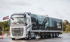 Шофер из Латвии занял шестое место в финале чемпионата Volvo Trucks
