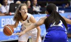 Latvijas U-18 basketbolistes Eiropas čempionāta pusfinālā zaudē spēcīgajai Francijai