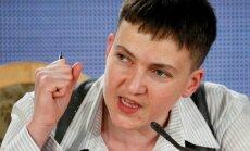 Савченко попросила Трампа ужесточить санкции в отношении России