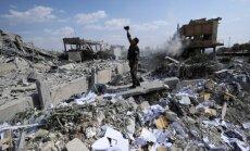 Foto: Publiskoti kadri ar raķešu sagrauto Sīrijas zinātnisko pētījumu centru