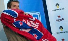 Sprukts: kopā ar CSKA vēlos izcīnīt Gagarina kausu