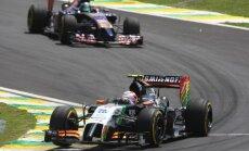 'Force India' F-1 komandas nākotne ir šaubīga