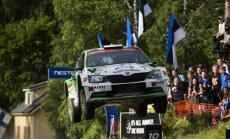 No WRC Somijas rallija izņemts leģendārais 'Ouninpohja' ātrumposma tramplīns