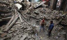 VUGD speciālists zemestrīcē Nepālā nav cietis