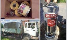 Nedēļā slēdz divas nelikumīgas alkohola ražotnes Pierīgā; izņemtas 6 tonnas dziras