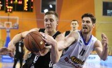 'VEF Rīga' basketbolisti nosargā pārsvaru un mača nogalē pieveic 'Kalev/Cramo'