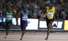 Великий спринтер Усэйн Болт впервые проиграл финал стометровки на чемпионате мира