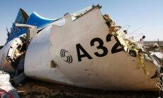 Drošības dienesti: arvien ticamāka kļūst Krievijas lidmašīnas uzspridzināšanas versija