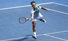 'Australian Open' pusfinālā tenisa 'saldais ēdiens' - Federers pret Džokoviču