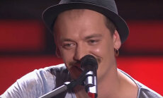 Video: Rīdziniekam Jegoram neizdodas iekarot šova 'Голос' žūrijas simpātijas