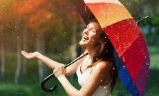 В понедельник в Ригу придут дожди, на востоке страны продолжится ненастье