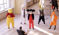 Video: Multfilmu varoņi gatavojas šovam 'Disneja karuselis'