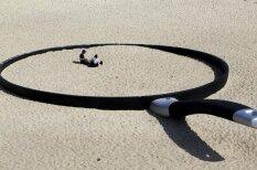 Песок, сковородки и носороги: как современное искусство пришло на пляж
