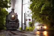 Паровая тяга: крутые фотографии старинных американских паровозов