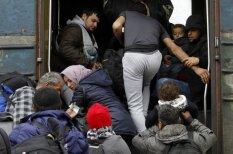 Maķedonijas bēgļu nometnēs bez pārmaiņām