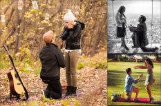 25 фотографий, на которых девушкам делают предложение руки и сердца