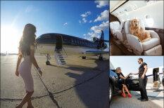 ФОТО, ВИДЕО. Как в России берут деньги за фейковые фото в частном самолете