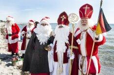 Сотни Санта-Клаусов собрались на ежегодный конгресс в Копенгагене