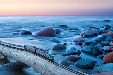 """Путешествие """"туда и обратно"""", или Поезд-призрак, с фото которого """"что-то не так"""""""