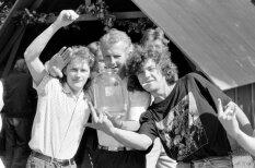 """Пиво, цены в """"репшиках"""" и дух свободы на архивных фото с праздника Cēsu alus в 1992 году"""