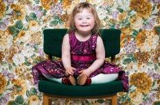 Portretu galerija: jauni un veci cilvēki ar Dauna sindromu