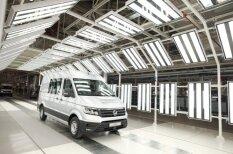 Таким сегодня мог быть РАФ: 100 ярких фото нового завода VW Crafter в Польше