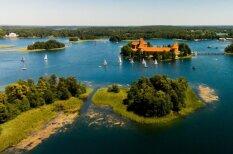 Iespaidīgi kadri: kā mūsu mīļā Lietuva izskatās no augšas