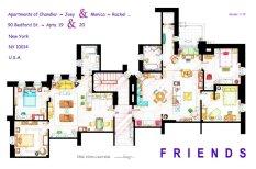 Где живут Шелдон, Бредшоу, Декстер и другие: планировка домов из любимых сериалов
