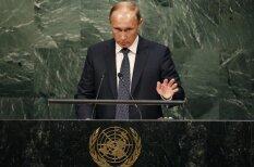 15 сильных фото с исторического выступления Владимира Путина в ООН