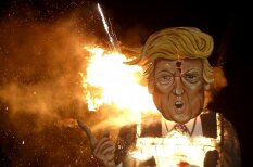 "Топи (за) Трампа! 12 фото, на которых весь мир ""выбирает"" президента США"