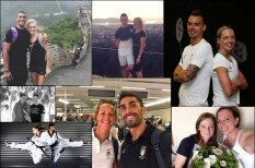 Игры любимых и любящих. Девять милых пар, которые соревнуются на Рио-2016