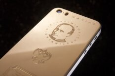 Золотой iPhone c ликом Владимира Путина - лучший подарок для патриота России