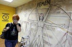 'Femen' kustības galvenās darbojošās personas