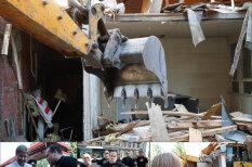 """Хроника уничтожения: Как в Риге за 2936 евро снесли киоск по продаже """"спайса"""""""